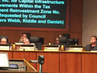 Council member Dennis Webb states his opinion on the reimbursement and the ARK Group.(Image: Rachel Hawkins/NDG)