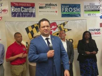 Maryland Democratic gubernatorial nominee Ben Jealous (William J. Ford/The Washington Informer