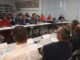 At a workers town hall meeting October 25, union leaders raised their biggest concerns with candidates Dean, Gilmore, and Freeman