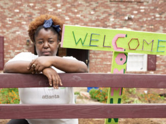 Abiodun Henderson (above) founded Gangstas to Growers, an initiative for youth supported by the Come Up Project. (Reginald Duncan / The Atlanta Voice)