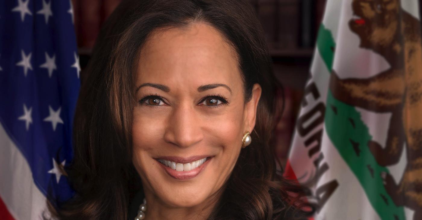 Official photo of United States Senator Kamala Harris (D-CA).