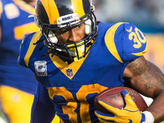 Los Angeles Rams running back Todd Gurley (30) (Robert Torrence/L.A. Sentinel)