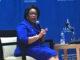 Former U.S. Attorney General Loretta Lynch spoke at Morgan State University on September 24. (Courtesy Photo)