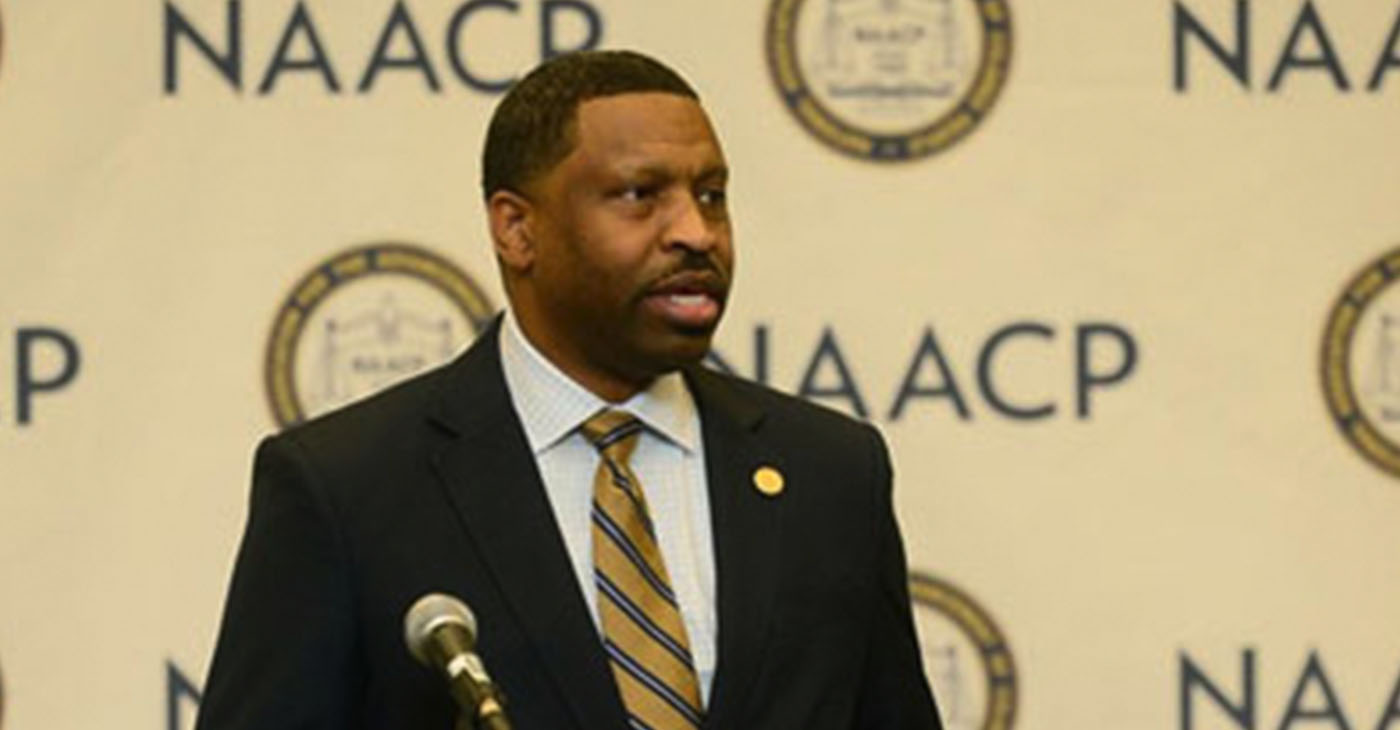 NAACP President and CEO Derrick Johnson