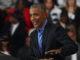 Former president Barack Obama spoke at Detroit Cass Tech High School urging Democrats to vote.