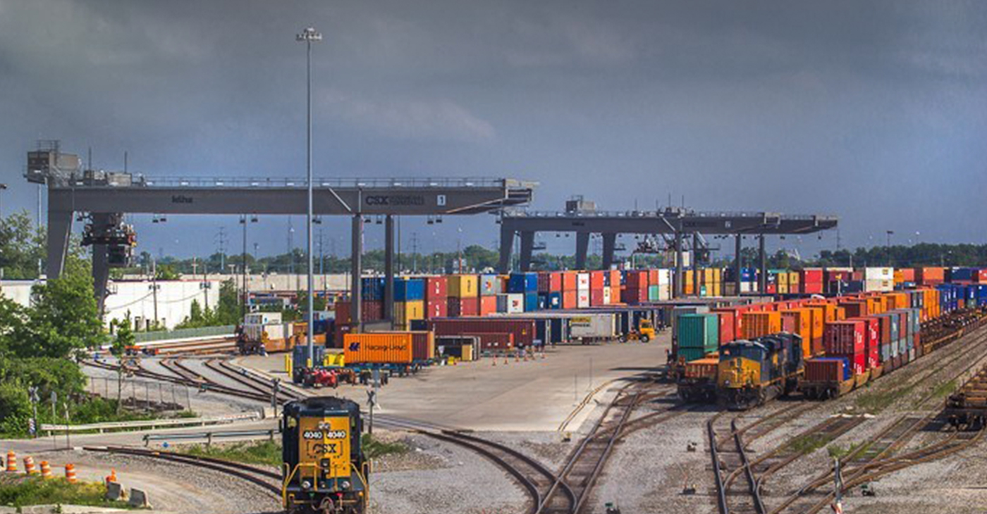 "Once our roadways are digitized to move automated vehicles, we will draw more industries to our intermodal facilities and accelerate their growth,"" Rep. Kelly said. (Photos by Brandon Townley)"