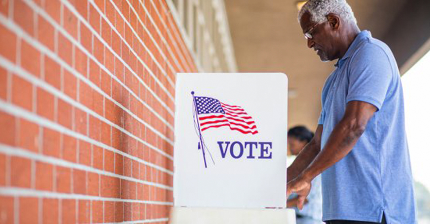 "Launched in May, the ""Be the Difference. Vote,"" campaign relies on studies that show voters 50 and older are the most reliable. (Photo: AARP)"