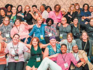 The Living Beyond Breast Cancer and the Triple Negative Breast Cancer Foundation host an annual conference in late September/early October in different cities. Scholarships are available. Above are TNBC survivors who attended last year's conference. Photo provided.