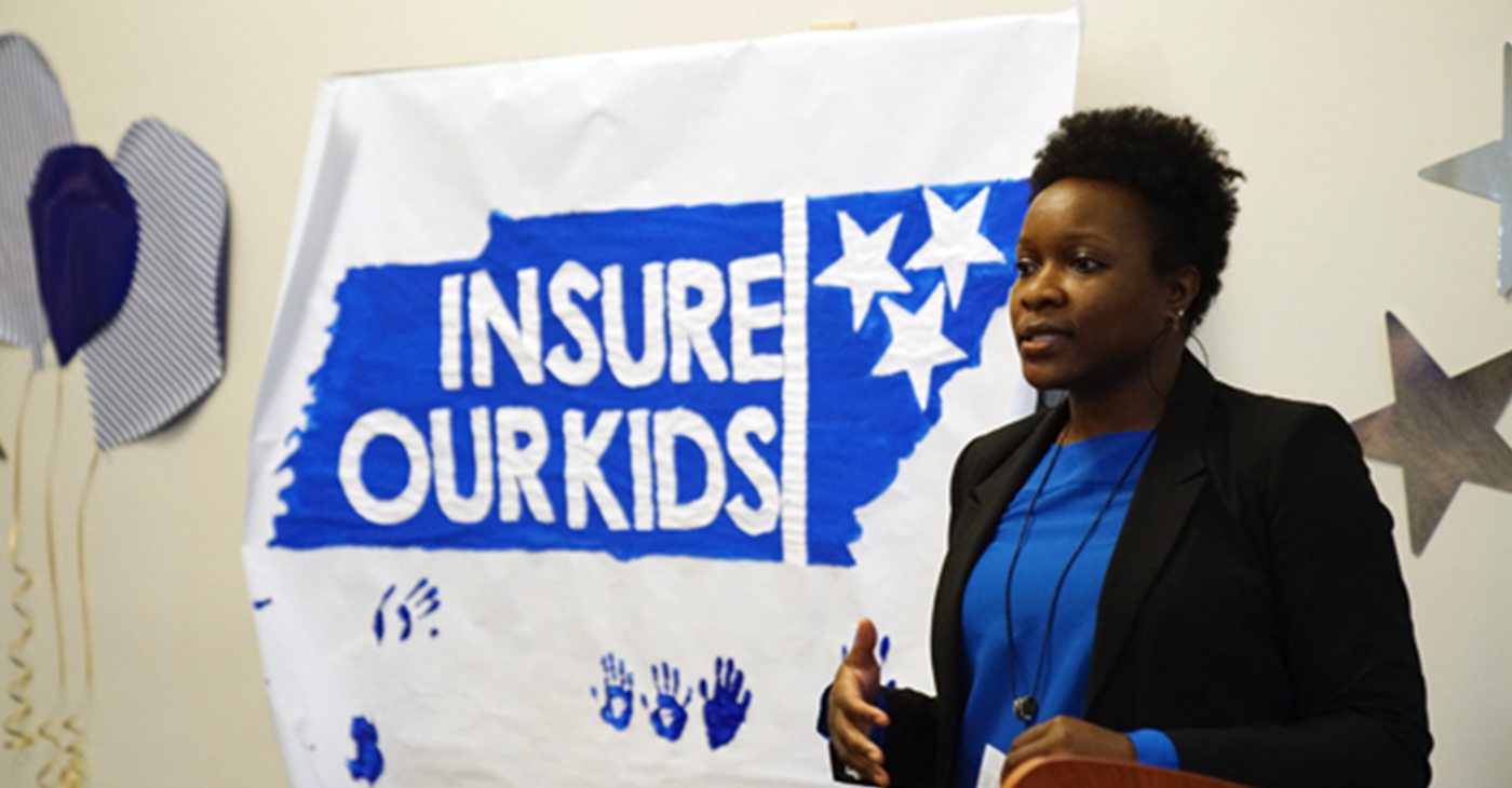 Kinika Young, director of Children's Health for the Tennessee Justice Center.