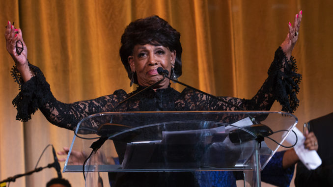 As a vocal outspoken opponent to President Trump, Rep. Maxine Waters (D-CA) has received death threats.