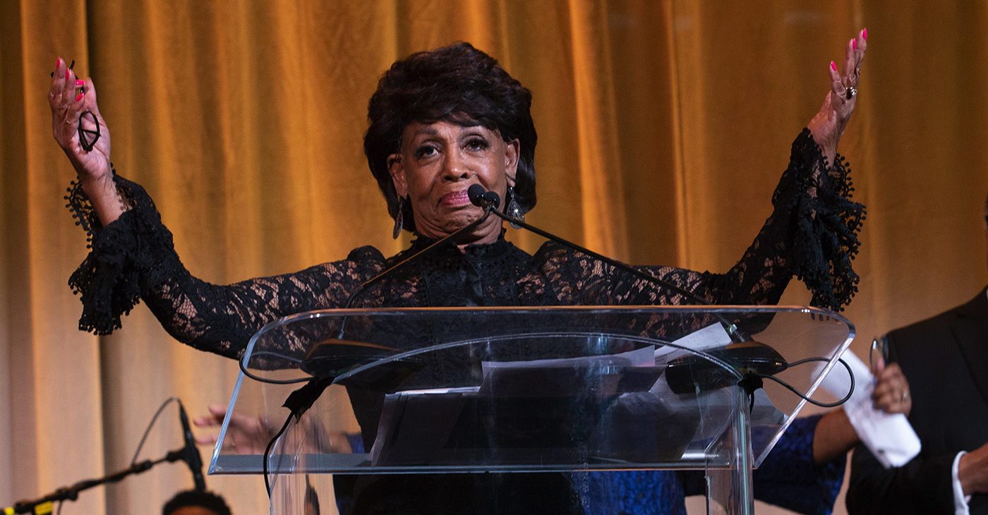 Rep. Maxine Waters Pushes Back Hard Against Unsubstantiated