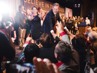 """I believe that Tennessee can go from """"Good"""" to """"Great."""" I believe that Tennessee can lead the nation,"""" said Governor-elect Bill Lee in his victory speech Nov. 6."""