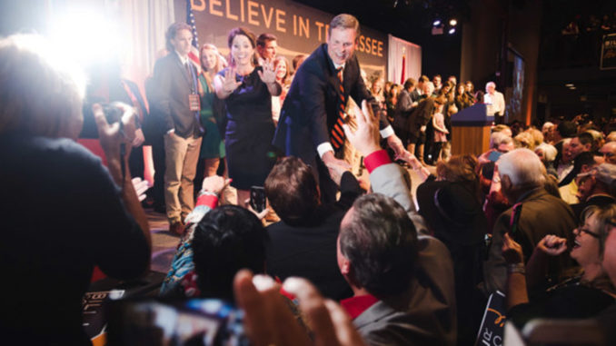 "I believe that Tennessee can go from ""Good"" to ""Great."" I believe that Tennessee can lead the nation,"" said Governor-elect Bill Lee in his victory speech Nov. 6."