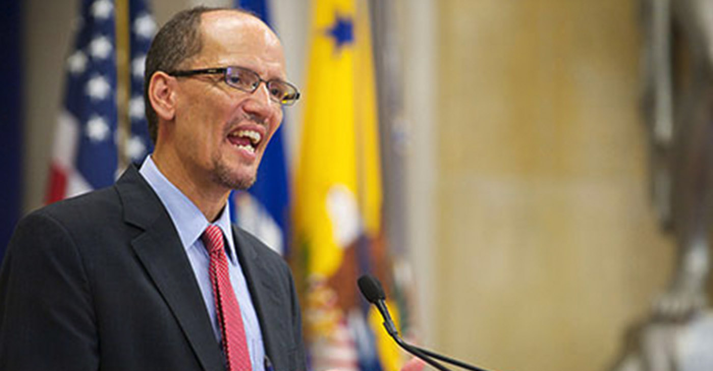 Democratic National Committee Chair Tom Perez