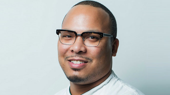 Jerome Grant, executive chef of the Sweet Home Café at the Smithsonian's National Museum of African American History and Culture. (Courtesy Photo/ Scott Suchman)