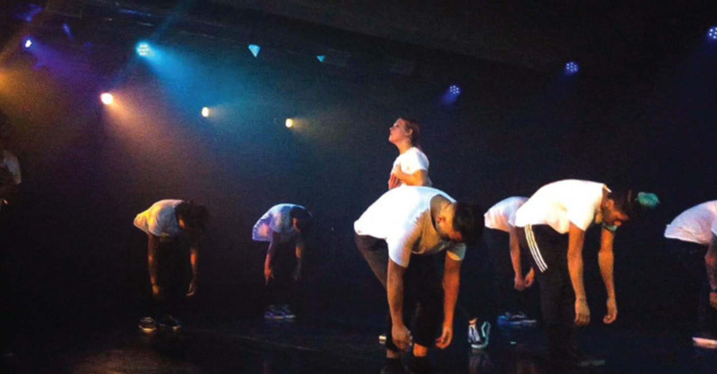 Members of Origins performing Work Song. (Photo provided by SueMo Dance Company)