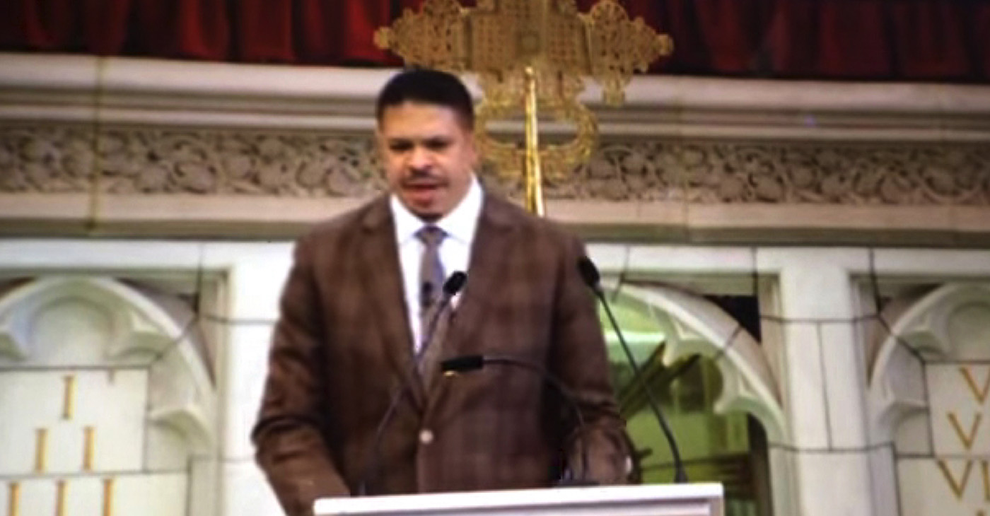 Abyssinian Baptist Church: 2016 Black History Month Service (YouTube Screencapture) Guest Preacher: The Rev. Matthew V. Johnson Sr., Senior Pastor, Mt. Moriah Baptist Church, Birmingham, AL. Continuation of his dynamic sermon based on 1 Kings 19:1-8.