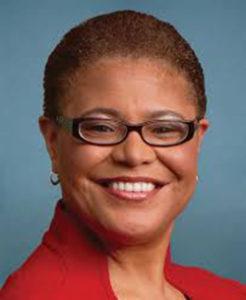 U.S. Rep. Karen Bass represents California's 37th Congressional District in Washington, D.C