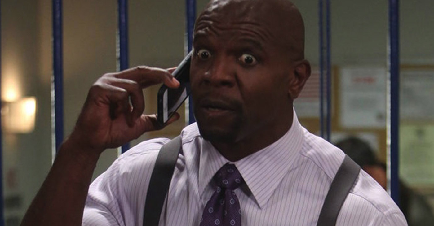 Terry Crews staring in Brooklyn 99