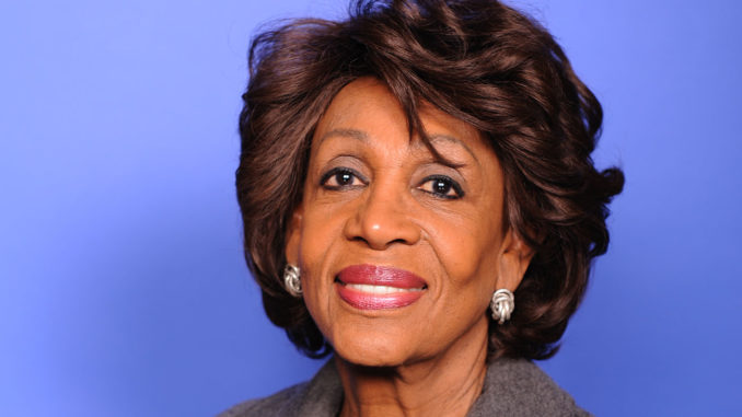 Congresswoman Maxine Waters (D-CA), Chairwoman of the House Committee on Financial Services