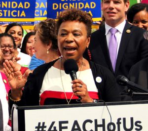 Currently, Congresswoman Lee serves on the Budget Committee and the powerful Appropriations Committee, which oversees all federal government spending.