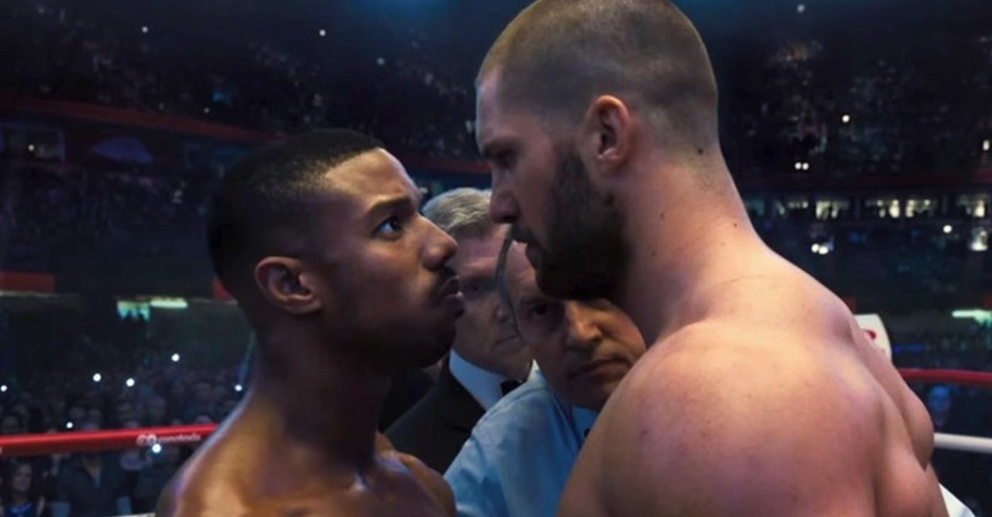 This follow up to the very popular boxing film Creed (worldwide gross $174M) throws a lot of left hooks, right jabs and uppercuts, but only a few connect, and none land a knockout punch. (Photos: MGM)