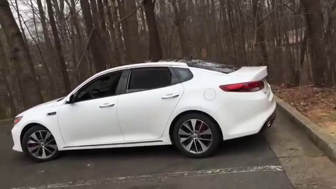 Best Detailed Walkaround 2016 Kia Optima Sx Limited