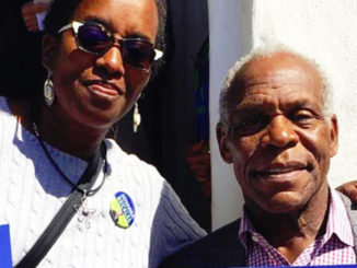 Jovanka Beckles, the Bay View's proud choice for Assembly District 10, and Danny Glover campaign together for Yes on Prop 10.