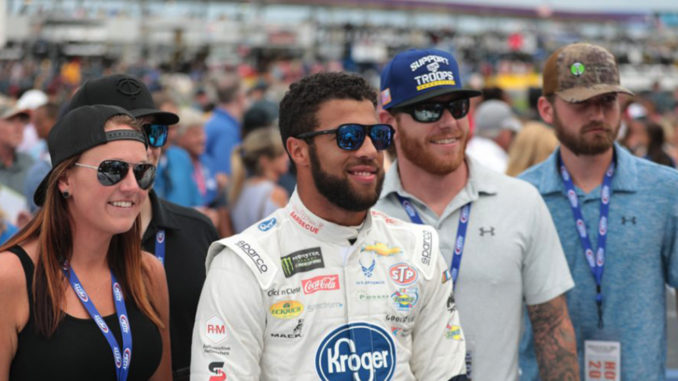 Bubba Wallace is a graduate of NASCAR's Drive for Diversity Program. (Photo by: Itoro N. Umontuen/The Atlanta Voice)