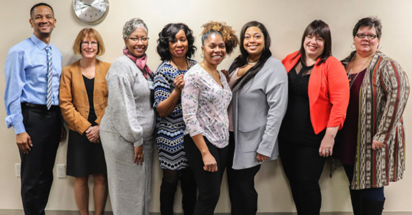 THE PROUD STAFF at Marram Health Center recently celebrated completion of their annual evaluation for compliance with Health Resources and Services Administration. The center, which provides primary healthcare for patients in Northwest Indiana achieved 100 percent compliance.