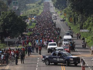 """Who is Puelbo Sin Fronteras, The Group behind the migrant caravan that drive Trump's ire,"" Nicole Acevedo NBC News"