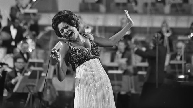 Nancy Wilson Performing in Amsterdam, March 1968, Nationaal Archief, the Dutch National Archives