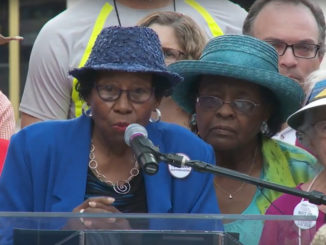 94-Year Old Rosanell Eaton Speaks at NC's America's Journey for Justice Rally (Photo: YouTube)