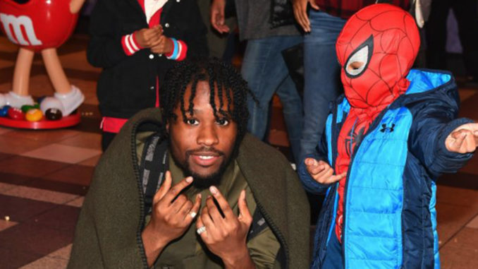 Shameik Moore stars as Miles Morales in Spider-Man: Into The Spider-Verse