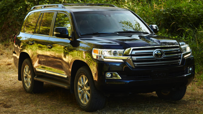 The Toyota Land Cruiser is one of the few truck-based three-rowed vehicles that can carry eight people — and everybody has a seat, no sharing.