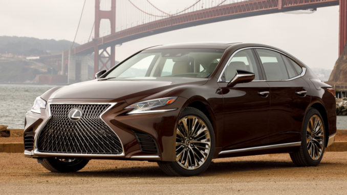 The 2019 Lexus LS 500, a real luxury car for the real world.