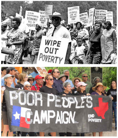 Poor People's Campaign then and now
