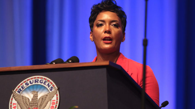 File Photo: Atlanta Mayor Keisha Lance Bottoms. Photo by: Itoro N. Umontuen/The Atlanta Voice
