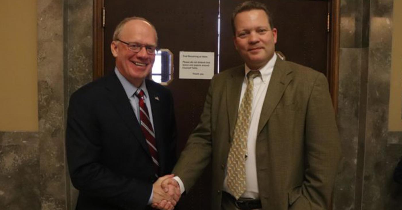 Congressman John Rose and Plaintiff Attorney Jim Roberts find a common cause fighting City Hall.