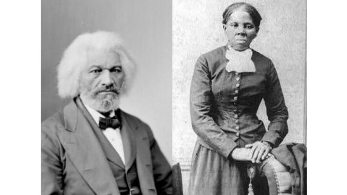 Abolitionists Frederick Douglass and Harriet Tubman, who famously helped over 300 slaves escape the South into freedom, will be memorialized in the Old House of Delegates Chamber. (Courtesy Photos)