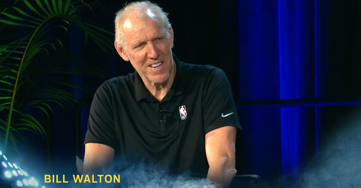 Photo: Bill Walton, Earl Lloyd Sports Legacy Symposium | MLK Jr. NBA Celebration Game | January 21, 2019