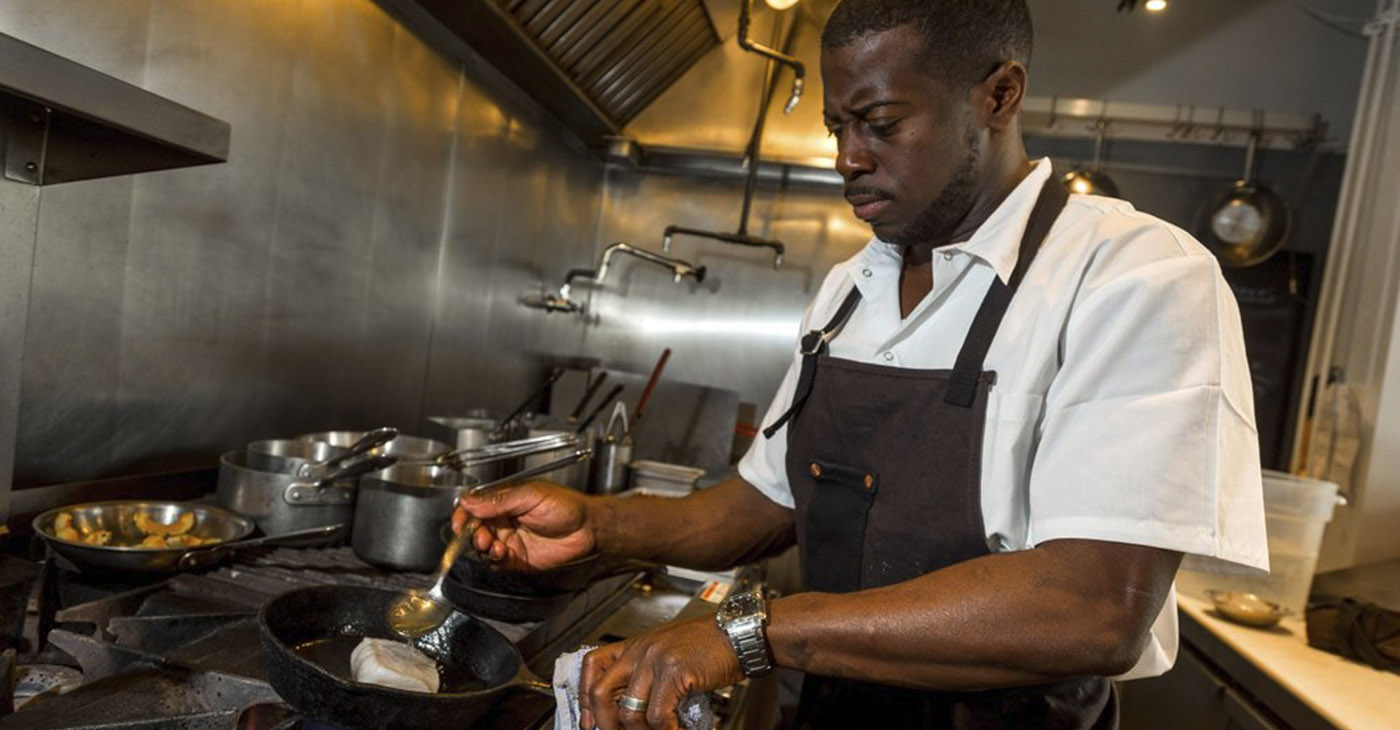Executive Chef Edouardo Jordan/Courtesy The Strand House