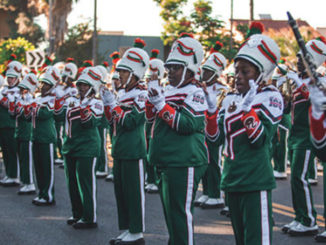 "FAMU's Marching ""100"". Photo by The Florida Star"