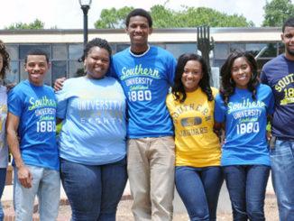 Southern University of Louisiana students (Photo by: http://ladatanews.com)