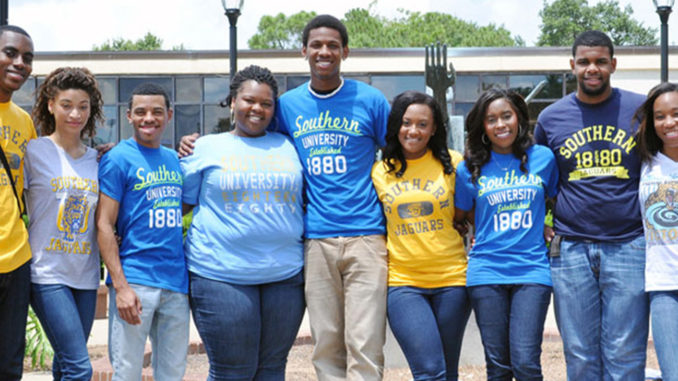 Southern University of Louisiana students (Photo by: http://ladatanews.com)