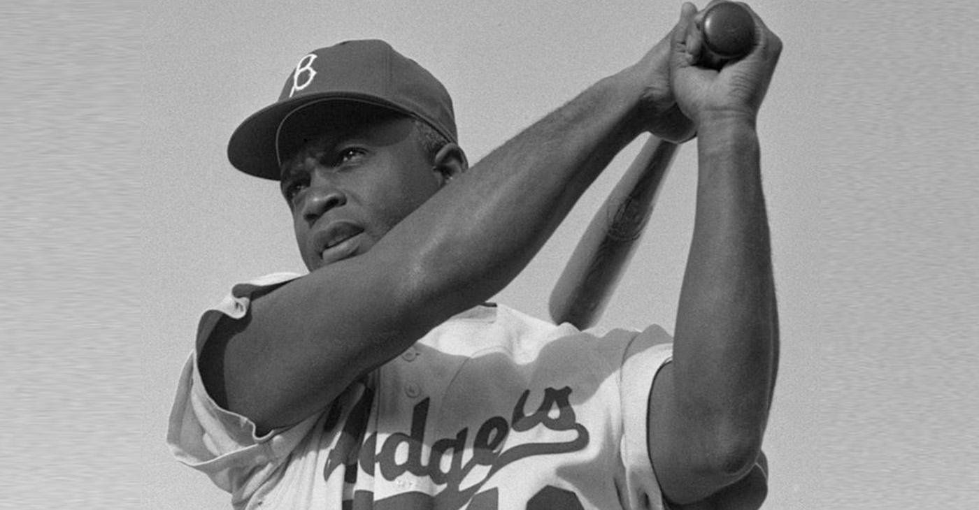 Jackie Robinson in 1954 (Photo by: Bob Sandberg | Wiki Commons)