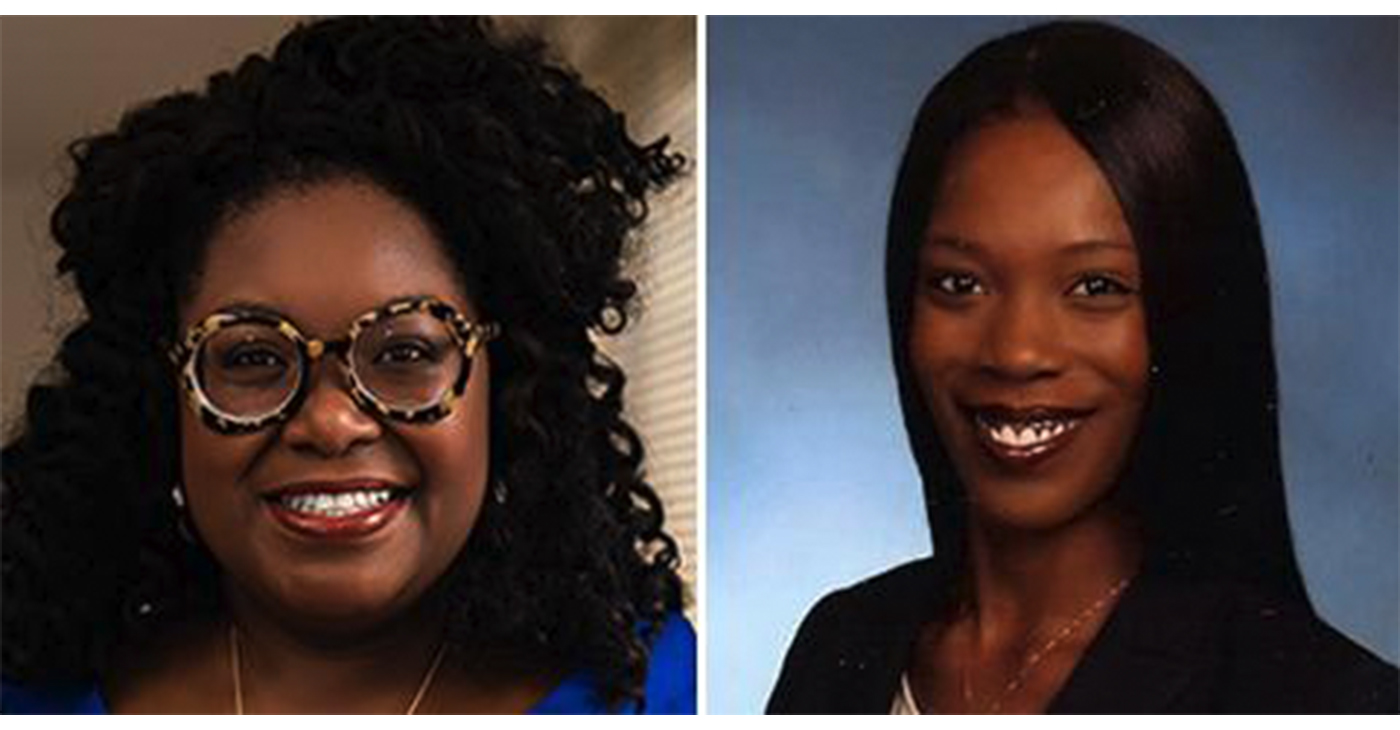 Joi Chaney as chief of staff (pictured left),Zephranie Buetow to serve as legislative director (pictured right). (Courtesy photo)