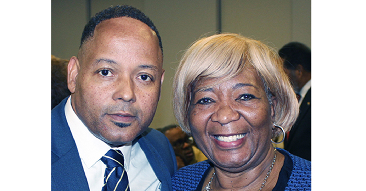 Keith Caldwell, NAACP Nashville Branch President, left, and Gloria Jean Sweet-Love, President of the Tennessee State Conference NAACP (Photo by: Nashville NAACP)