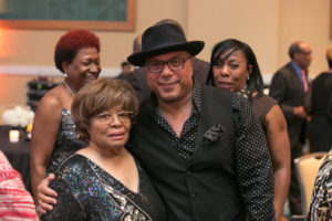 Perry and R& B Legend, Howard Hewitt who performed several of his hit songs to toast Perry.