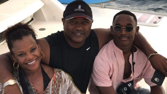 "Dr. Cheryl Terrell and her attorney husband Julius with son ""Jay"" on vacation stress the importance of family time to survive in business. (Courtesy of the Terrell Family)"
